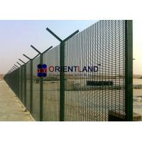 Quality PVC Powder Coated, Wire Mesh Security Fencing 3 X 0.5 X 8 Gauge for sale