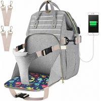 Multi Function Baby Diaper Backpack 20L With Baby Seat