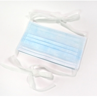 Quality FDA /CE Approved Disposable Face Mask 3 ply Tie On Surgical Mask for sale
