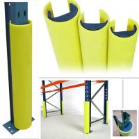 Quality Bumper Column Guards Pallet Racking , Prefab Fabric Garage Lally Column Covers Outdoor for sale
