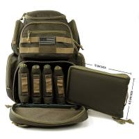 Quality Druable Outdoot Hunting Tactical Gun Bags Army Camo Backpack OEM Service for sale