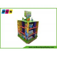 Cut Out Top Sign Cardboard Pallet Display Racks With Flat Packing PA006