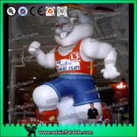 Quality Sports Event Inflatable Cartoon Advertising Rabbit Model for sale