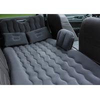 Quality High Comfort Inflatable Car Bed With Blow Up Pump 300KG Max Loading for sale