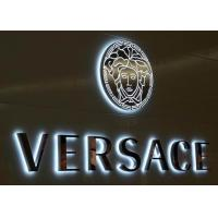 Quality Glossy Backlit LED Letters Sign Stainless Steel , Illuminated Sign Boards for sale
