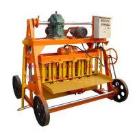 China Clay hollow block making machine 4-45 Cheapest Hollow Cement Block Making Machine on sale