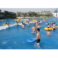 Quality 4 - 6m Width Water Park Equipment Family Commercial Lazy River Customized Length for sale