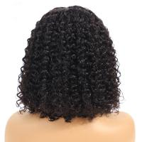 China 13X4 Lace Front Human Hair Wigs For Black Ladys Extensions Kinky Curl on sale