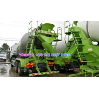 Quality LHD & RHD 6x4 Tri-Ring 375HP 8--12CBM concrete cement mixer truck for Sri Lanka for sale