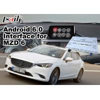 Buy Mazda 6 Sedan Android 6.0 Car Multimedia Navigation System with Knob / steering at wholesale prices