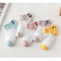 China Comfortable Fashion Cute Baby Socks , Knitted Cotton Baby Socks Customized Color on sale