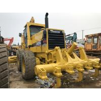 Quality Gd825a Used Komatsu Motor Grader Ripper Available 280hp Engine Power for sale