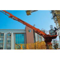 Quality HG32B Climbing Concrete Placing Boom 20m Column Compact Structure With Counterweight for sale