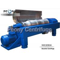 Horizontal 2 Phase Decanter Centrifuge For Calcium Hypochlorite Dewatering for sale