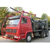 China High Performance Timber Truck, 12.00R20 Tire 50 Ton Heavylog Truck Trailer on sale