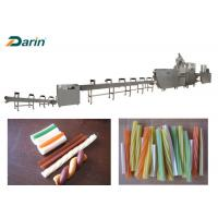 Buy cheap Ss Dental Care Dog Food Extruder Chewing Gum Snack Food Production Line from wholesalers