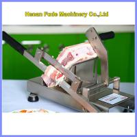 Quality small frozen meat slicer, Household manual meat slicer for sale