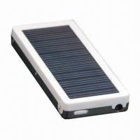 Quality Solar Charger with 2,400mAh/3.7V Polymer Lithium-ion Battery (High Energy and Safety) for sale