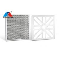 China Fireproof Perforated Metal Ceiling Panels , Perforated Aluminum Ceiling Tiles on sale