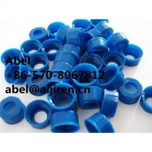 Quality blue cap screw-thread cap pp cap polypropylene cap open-topped cap for sale