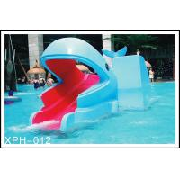 Quality Outside Water Pool Slides Water Park Whales Cartoon Shape Kids Pool Water Slides for Kids Water Park for sale