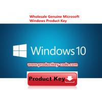 Quality Microsoft Windows 10 Product Key Codes Download Online Activate Key 32 64bit for sale