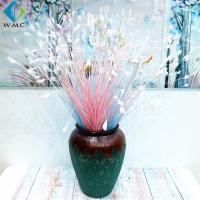 Colorful Fake Onion Grass , Plastic Peacock Flower Plant Various Size for sale