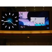 Quality Advertising P7.62 150 fps indoor led stage screen , led billboard display 32 * 16dots for sale