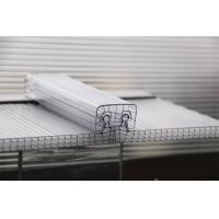 Quality U Lock Corrugated Polycarbonate Sheets R Structure Shape OEM / ODM Available for sale