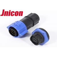Quality Panel Type Waterproof Data Connector IP67 5A 12 Pin Male Female Plug With Socket for sale
