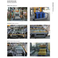 Quality Case Packing Filling Automatic Palletizer Machine For Flat Pet / PP Bottles for sale