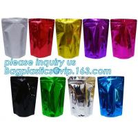 Quality Metallized Stand Up Pouch Snack Packaging Laminated Aluminum Foil Flexible for sale