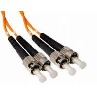 Buy cheap ST to ST Duplex Fiber Optic Patch Cord 62.5 / 125 Multimode with 3.0mm PVC from wholesalers