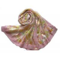 Quality Burnt-out Raw Silk Scarf (HP-C1075) for sale