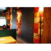 Buy Colored Vinyl 3D Decorative Wall Panels at wholesale prices