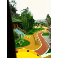 Quality Anti Slipping EPDM Rubber Flooring For Playgrounds , Kindergartens for sale