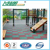 Quality Children Play Area Rubber Gym Mats Shock And Abrasion Absorption 9 Years Warranty for sale