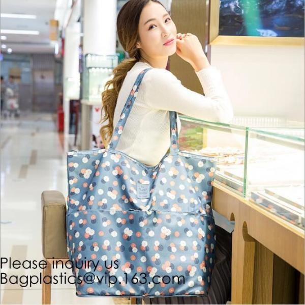 Buy Big shopper bag cotton shopper bag mesh tote bag for outdoor shopping,Big Tote Canvas Log Shopper Rainbow Bags, bagease at wholesale prices