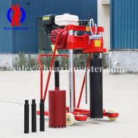 Gasoline concrete drilling coring machine highway asphalt pavement drilling machine guardrail drilling equipment