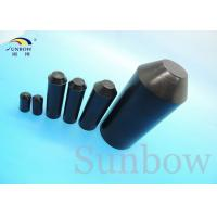 Buy cheap High Temp Adhesive Lined End Caps Cable Accessories for end of Wires product