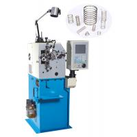 Buy cheap High Efficiency Wire Bending Machine , Belleville Spring Coiling Machines With 2 Axis product