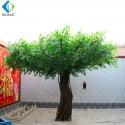 2.5m Height Fake Banyan Tree , Plastic Ficus Tree For Restaurant Garden for sale
