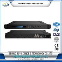 Quality HEM-2128H 8HD input Encoder Modulator for DVB-T system or Cable TV system for sale