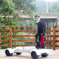 Quality EcoRider golf board 60V electric golf cart 4 wheel electric scooter with removable handle for sale