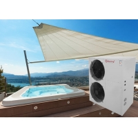 China Meeting 21kw outdoor swimming pool spa tubs heat pump water heaters R32/R410A/R417A/R404A on sale