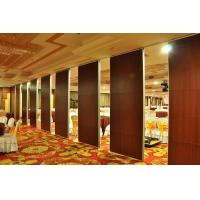 Buy cheap Banquet Hall Aluminum Sound Proof Acoustic Movable Partition Walls from wholesalers