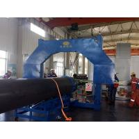 Quality 1000mm Dia Plastic Pipe Welding Machine PE PVC PP HDPE PIPE Pipe Cutting for sale