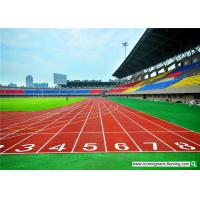 Buy SS Gsportsurface Breathable Outdoor Playground Plastic Running Track Material at wholesale prices