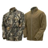 China Hunting Outdoor Reversible Soft Shell Camouflage Jacket Big And Tall Camo Hunting Clothes on sale