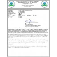 VICTORY POWER TECHNOLOGY Co.,LTD Certifications